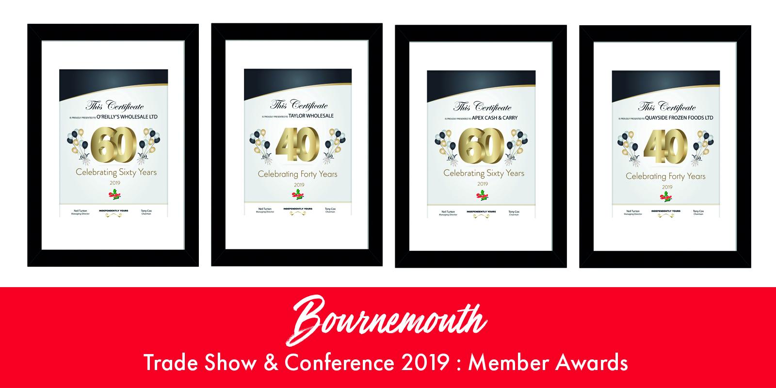 Sugro UK News | Bournemouth Trade Show & Conference 2019: Member Awards